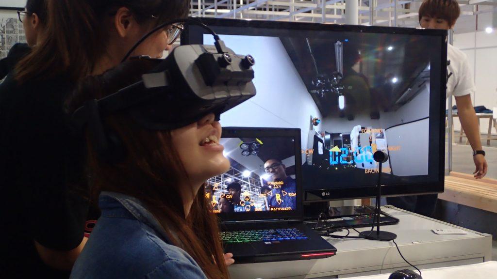 Virtual Drone @ WDC 2016, Taipei
