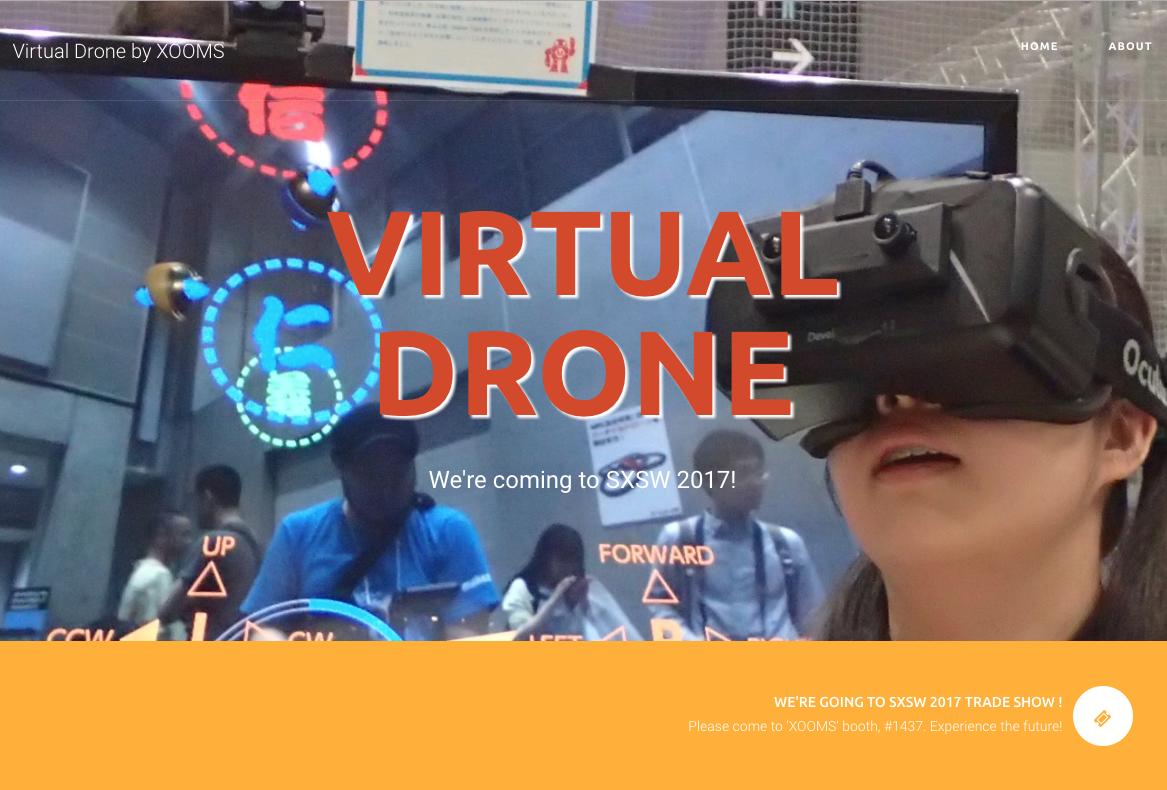 Virtual Drone's special site
